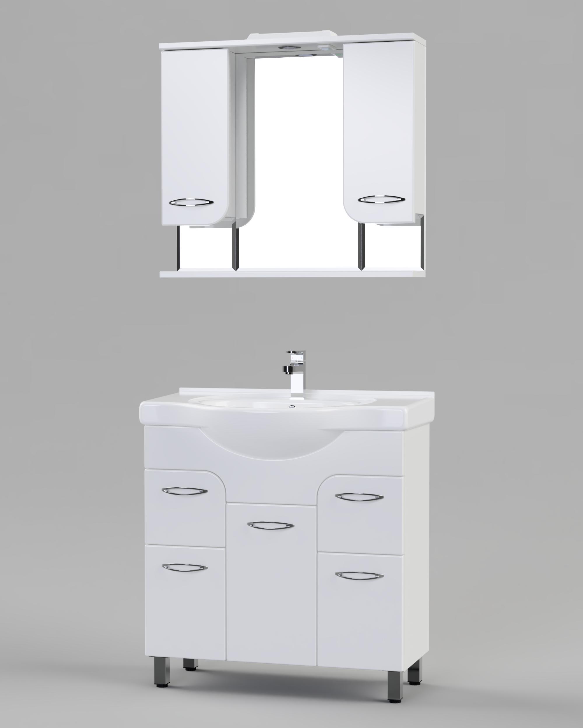 Комплект мебели для ванной комнаты БАЛИ 80